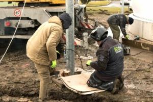 ČOV Strakonice - rekonstrukce plynojemu, montáž nového plynojemu